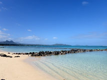 Pahonu Pond (Ancient Hawaiian Fishpond) Royalty Free Stock Images