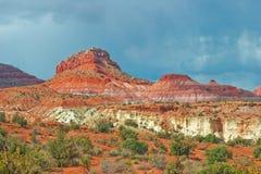 Pahrea canyon Royalty Free Stock Photo