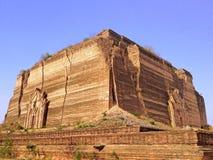 Pahtodawgyi塔的废墟 库存图片