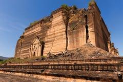 Pahtodawgyi damaged pagoda Royalty Free Stock Photo