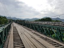 Pai历史记录桥梁 免版税库存照片