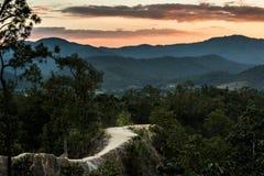 Pai峡谷,泰国 免版税库存图片