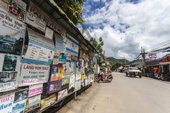 Pai市在泰国 库存图片