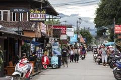 Pai走的街道 免版税库存图片