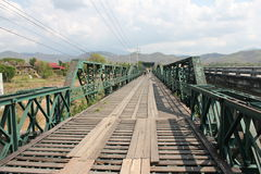 pai моста историческое Стоковое Изображение RF