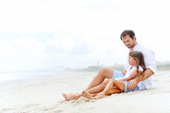 Pai bonito e criança Imagens de Stock