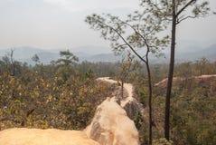 Pai Canyon en Tailandia Fotografía de archivo libre de regalías