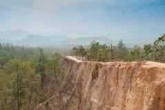 Pai Canyon en Tailandia Imagenes de archivo