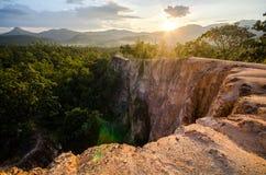 Pai Canyon med vänner Fotografering för Bildbyråer