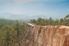 Pai Canyon in Thailand Stock Images