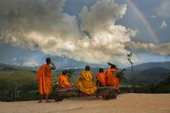 Pai Canyon Thailand royaltyfri fotografi