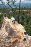 Pai Canyon in Thailand Royalty Free Stock Image