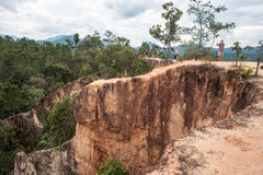 Pai Canyon in Thailand Stock Photo