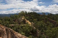 Pai canyon, Thailand. Pai Canyon outside of Pai, Thailand Stock Photography
