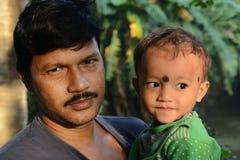 Pai & criança Foto de Stock Royalty Free