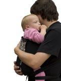 Pai e criança Fotos de Stock Royalty Free