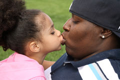 Pai e criança Imagens de Stock