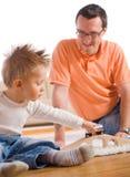 Pai e criança Imagem de Stock Royalty Free