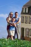Pai e criança da matriz da família Imagens de Stock Royalty Free