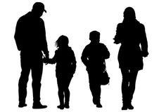 Pai e criança um ilustração do vetor