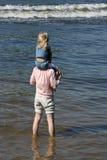 Pai e a filha Fotografia de Stock Royalty Free