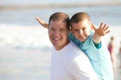 Pai e filho Imagens de Stock