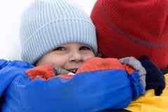 Pai e filho - família adorável Imagem de Stock Royalty Free