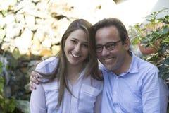 Pai feliz And Daughter Foto de Stock
