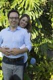 Pai feliz And Daughter Imagens de Stock Royalty Free