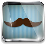 Pai feliz Day Mustache Gift ilustração royalty free