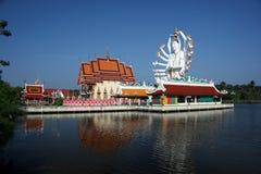 Pai Laem Temple Royalty Free Stock Images