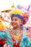 Pai Maehongson Thailand. Poi Sang Long Festival. 3 Apirl 2016 Royalty Free Stock Photos