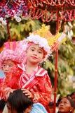 Pai MaehongsonThailand. Poi Sang Long Festival April 3,2016. Stock Image