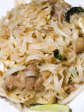 Pai thai rice noodles food Royalty Free Stock Photography