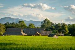 Pai (Thailand) landschap Stock Afbeeldingen