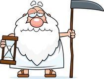 Pai triste Time dos desenhos animados Fotografia de Stock