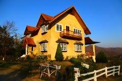 Pai Yellow House Stock Image