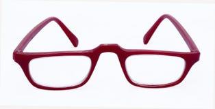Paia dei telai rossi di vetro immagini stock libere da diritti