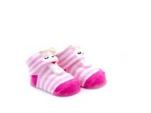 Paia del calzino del bambino Fotografie Stock