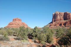 Paia dell'Arizona dei monumenti di pietra antichi immagine stock