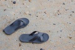 Paia delle pantofole Fotografie Stock