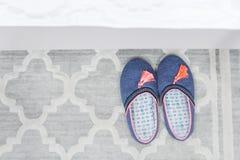 Paia delle pantofole variopinte Fotografia Stock