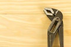 Paia delle prese d'acciaio della talpa con le mandibole regolabili Immagine Stock