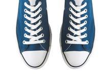 Paia delle scarpe da tennis generiche Fotografia Stock