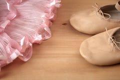 Paia delle scarpe di balletto Immagine Stock