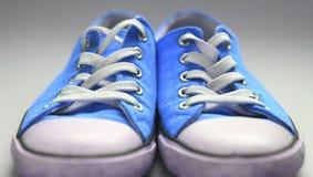 Paia delle scarpe di palestra Immagini Stock Libere da Diritti