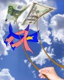 Paia di valuta Immagini Stock Libere da Diritti