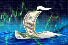 Paia di valuta Fotografia Stock