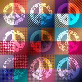 Paicfic-Hippiesymbol Stockfoto