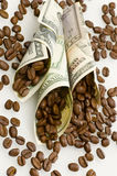 Paid for coffee Royalty Free Stock Photography